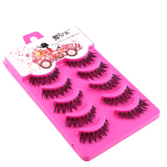 5 Pairs Natural Eye Lashes Extension Makeup Long Fake False Eyelashes A20 Price Philippines