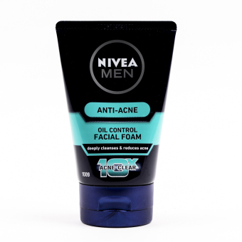 Harga Nivea For Men Anti Acne Oil Control Facial Foam