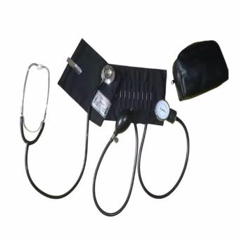 Harga Medi Aneroid Sphygmomanometer (Black) and Stethoscope Blood Pressure Monitor