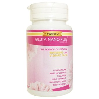 Gluta Nano Plus+ Version 2 Whitening and V-Shape Face 900k 30 Softgels Price Philippines