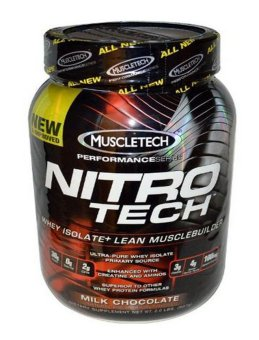 Muscletech Nitro Tech Performance Series Whey Isolate Chocolate 2 lbs Price Philippines