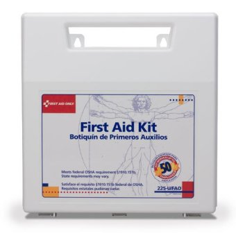 196 PCS Emergency First Aid Kit OSHA / ANSI compliant ( 50 persons ) with mountable carrying case ( USA ) Price Philippines