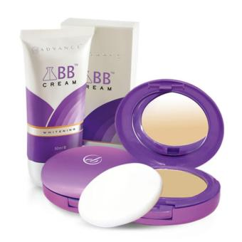 Harga Ever Bilena Advance Bb Compact Powder (Oriental) + Bb Cream (Whitening)