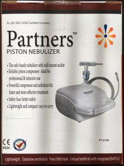 Harga Partners Piston Classic Nebulizer (White) of North American Cord, Belgium
