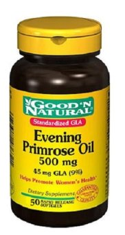 Harga Good N Natural Evening Primrose Oil 500mg 50's Helps Promote Woman's Health