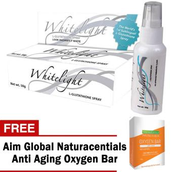 Harga Aim Global Whitelight Sublingual Glutathione Spray with Free Aim Global Anti Aging Oxygen Bar