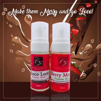 Crystal Choco Loco and Berry Merry Feminine Wash Set of 2 Price Philippines