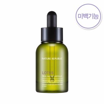 Harga Nature Republic Real Nature Lotus Ampoule 30ml