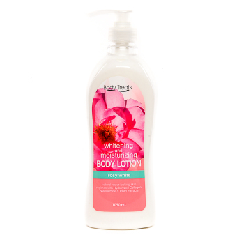 Harga BODY TREATS WHITENING BODY LOTION ROSY WHITE