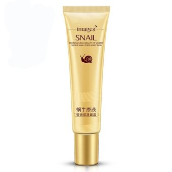 IMAGES Remove Dark Circles Hyaluronic Acid Cream Snail Eye CreamWhitening Moisturizing Anti-aging Wrinkle Snail Cream Essence -intl