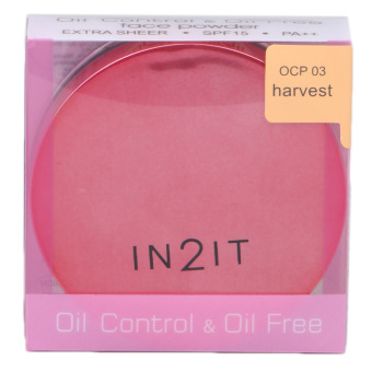 IN2IT Oil Control and Oil Free Face Powder 01 (Harvest) OCP03 Price Philippines
