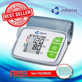 Indoplas Blood Pressure Monitor808 - Free Facemask
