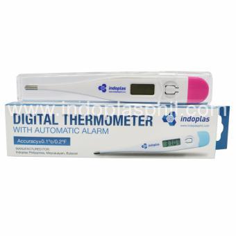 Indoplas Digital Thermometer (Pink) - 2