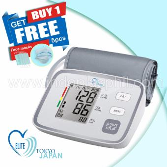 Indoplas Elite Blood Pressure Monitor Fully Automatic - FreeFacemask