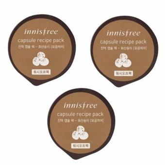 Innisfree Capsule Recipe Pack - Volcanic Cluster 10ml (Set of 3)