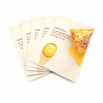 Innisfree It's Real Squeeze Mask- Manuka Honey 20ml (Set of 5)