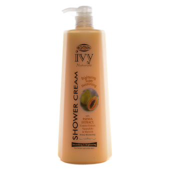 Ivy Natural Brightening Shower Cream Papaya Extract 1000ml Price Philippines