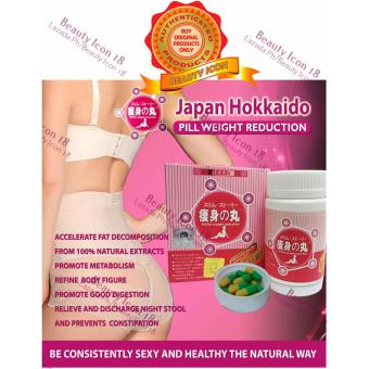 Japan Hokkaido Weight Loss Slimming Yellow Green Pills