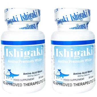 Japan Ishigaki Amino Premium White (30 capsules) Bottle of 2