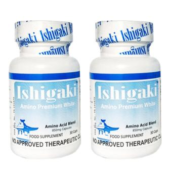 Japan Ishigaki Amino Premium White Bottle of 2 (30 capsules/bottle) (FDA Approved)