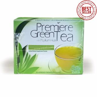 JC Premiere Green Tea with Psyllium Husk 10sachets