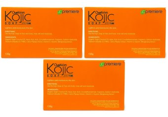 JC Premiere Omni White Kojic Soap 135g (Set of 3)