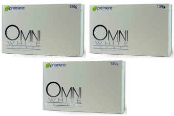 JC Premiere OMNI WHITE Soap 135g (Set of 3)