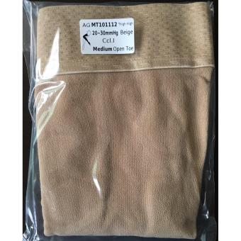 Jiami Thigh High Open Toe Compression Therapy Stocking Medium SizeMade in Taiwan - 3