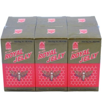 Jin Ling Pure Royal Jelly (60's) - 2