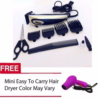 Jinghao Hair Clipper JH-4613 (Color May Vary) Mini Easy to CarryDryer (Color May Vary)