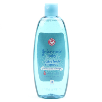 Johnson's Baby Active Fresh Shampoo 500ml