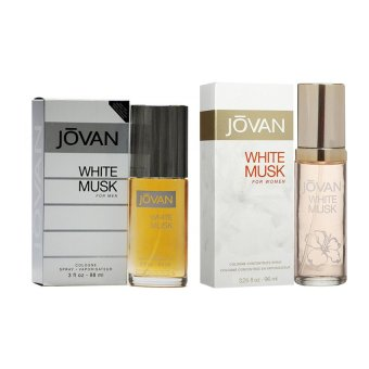 Jovan White Musk for Men 88ML and Jovan White Musk for Women 96.1MLCouple Perfume