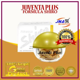 Juventa Plus Shiro Extracts Capsule - With Marine Placenta andGlutathione Price Philippines