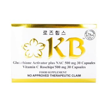 KB GlutaNAC + KB Rosehips 60 Capsules Price Philippines