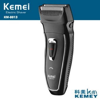 Kemei KM8013 Reciprocating Rechargeable Electric Shaver with Double Head Shaver Razor - intl