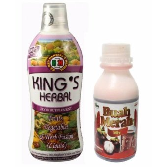 Kings Herbal 750ml and Buah Merah 30g (2 packs) Price Philippines