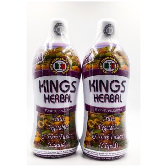 Kings herbal fruits, vegetables & herb fusion liquid set of 2bottles Price Philippines