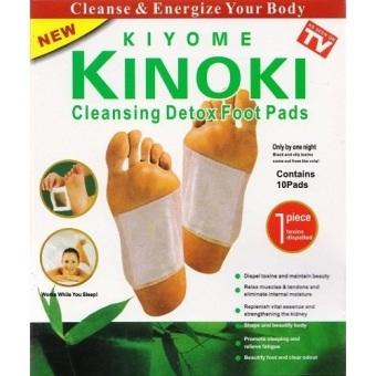 Kinoki Cleansing Detox Foot Pads (White)