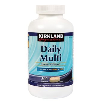 Kirkland Signature Daily Multi 1000mg Tablets- Bottle of 500
