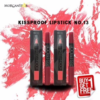 Kissproof Matte Lipstick No. 13 Buy One Take One