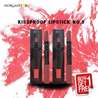Kissproof Matte Lipstick No.9 buy one take one