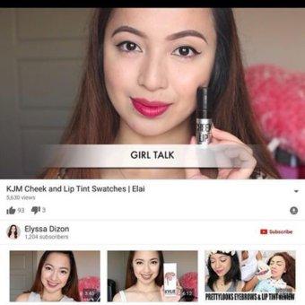 KJM All Organic Longlasting Cheek and Lips Tint, Girl Talk - 4