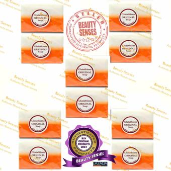 Kojic Acid & Glutathione Dual Whitening/Bleaching Soap 120g Set of 10
