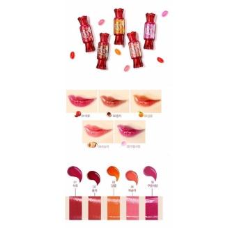 Korea Jelly Candy Lip Tint (Pomegranate) - 4