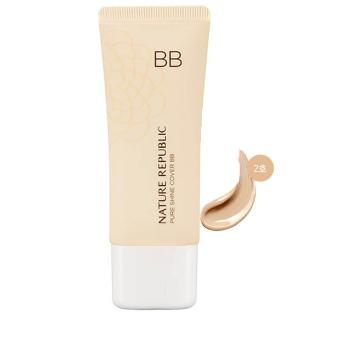 Korean Cosmetics Nature Republic Pure Shine Cover BB 02 NaturalBeige 35g