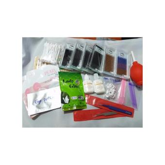 Korean Eyelash extension set Inclusion
