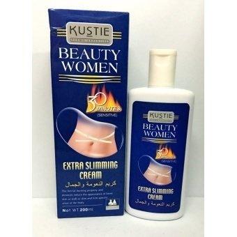 Kustie Beauty Women Extra Slimming Cream (Sensitive) 200ml
