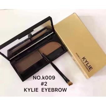 KYLIE DOUBLE COLOR EYEBROW #2 WITH BRUSH