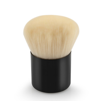 La Vie Kabuki Mini Makeup Tool Face Powder Blush Brush (Black)