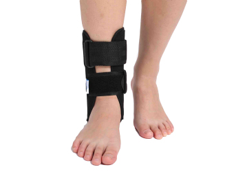 (Large)Ankle Support Braces splint with two pieces of removable molding upper shells - intl